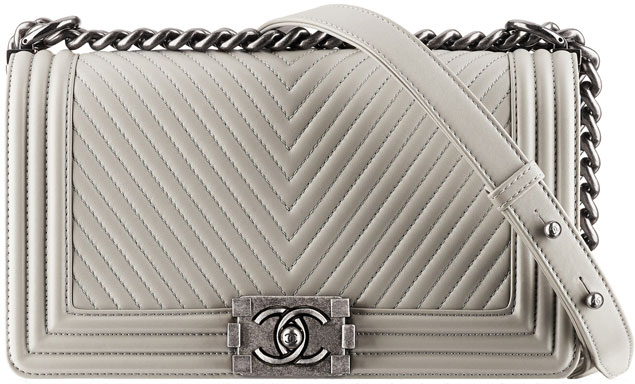 Chanel-boy-chevron-flap-bag-gray